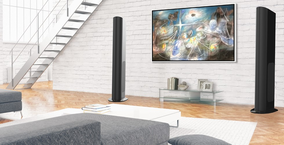 GoldenEar's Newest Addition to Their Family               The Triton One.R Tower Speaker